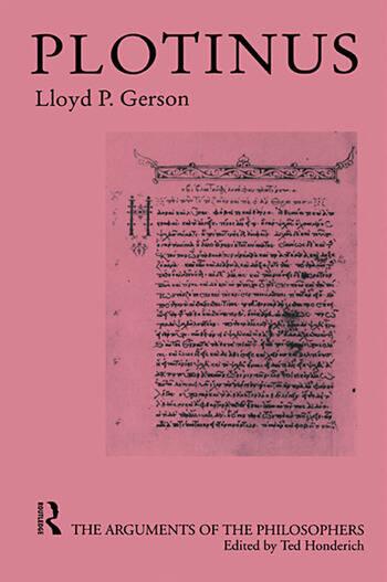 Plotinus-Arg Philosophers book cover