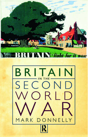 Britain in the Second World War book cover