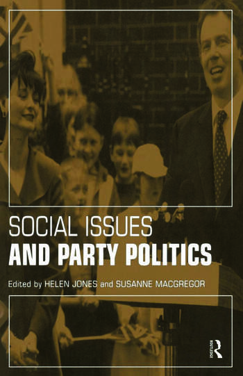 Social Issues and Party Politics book cover