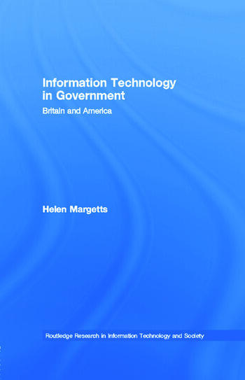 Information Technology in Government Britain and America book cover