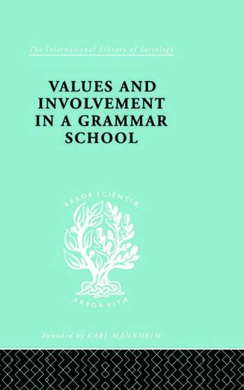 Values&Involv Gram Sch Ils 240 book cover
