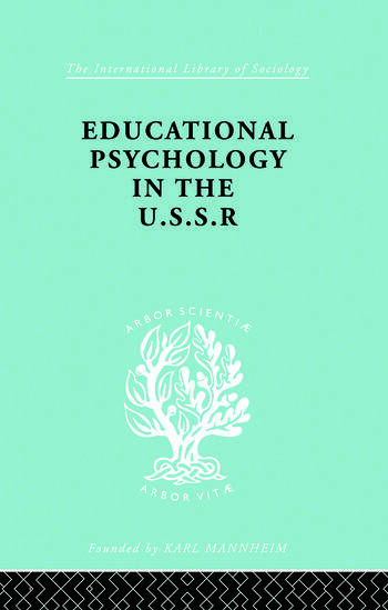 Educatnl Psychol Ussr Ils 268 book cover
