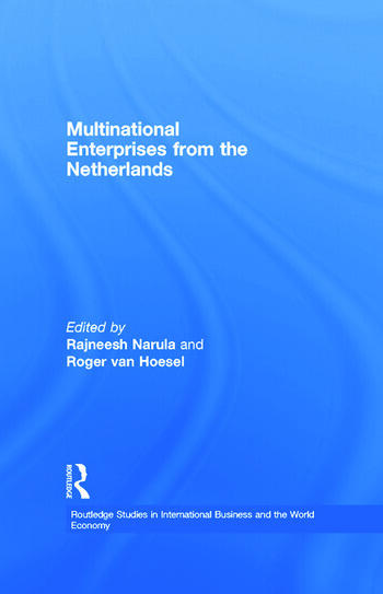 Multinational Enterprises from the Netherlands book cover
