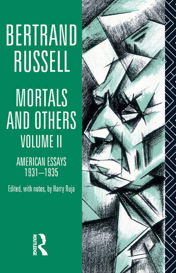 Mortals and Others, Volume II American Essays 1931-1935 book cover