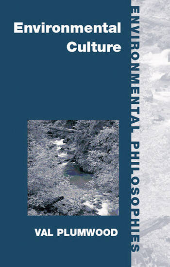 Environmental Culture The Ecological Crisis of Reason book cover