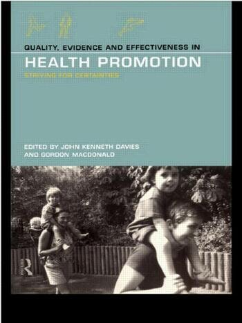 Quality, Evidence and Effectiveness in Health Promotion book cover