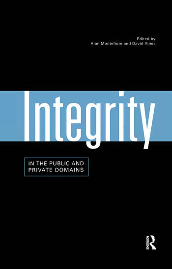 Integrity in the Public and Private Domains book cover