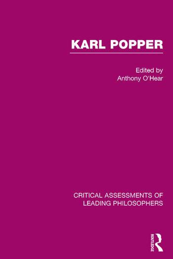 Karl Popper book cover