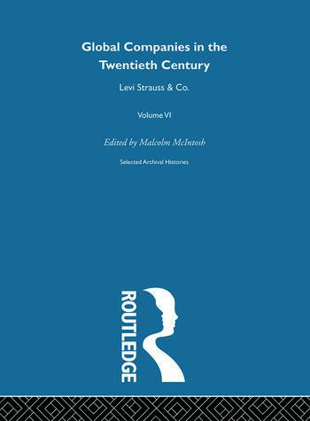 Levi Strauss:Global Comp V6 book cover