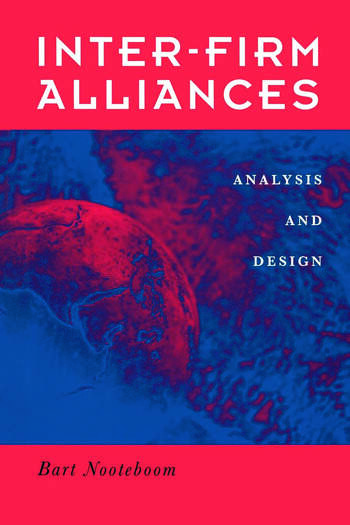 Interfirm Alliances International Analysis and Design book cover
