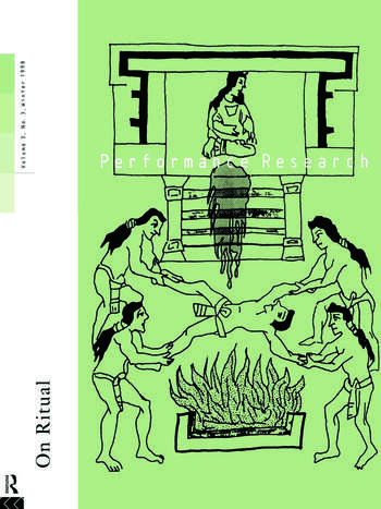 Performance Research: On Ritual book cover
