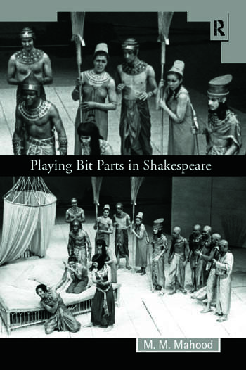 Playing Bit Parts in Shakespeare book cover