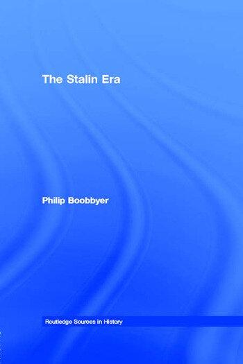 The Stalin Era book cover