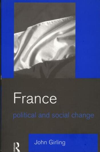 France Political and Social Change book cover