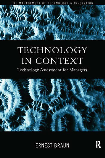 Technology in Context Technology Assessment for Managers book cover