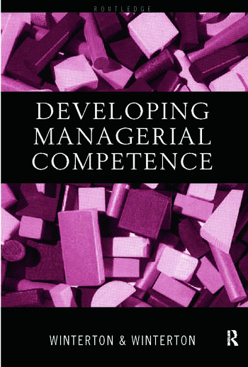 Developing Managerial Competence book cover