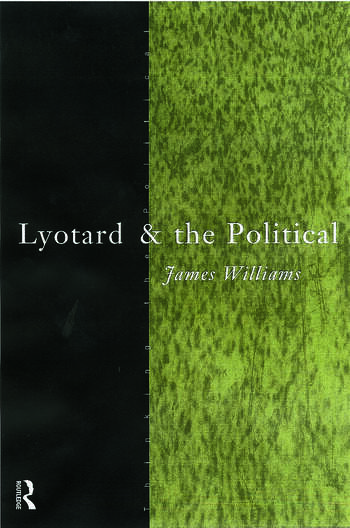 Lyotard and the Political book cover