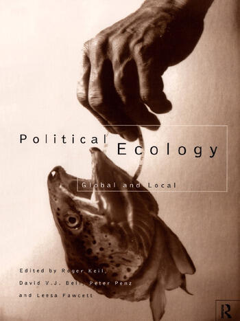 Political Ecology Global and Local book cover