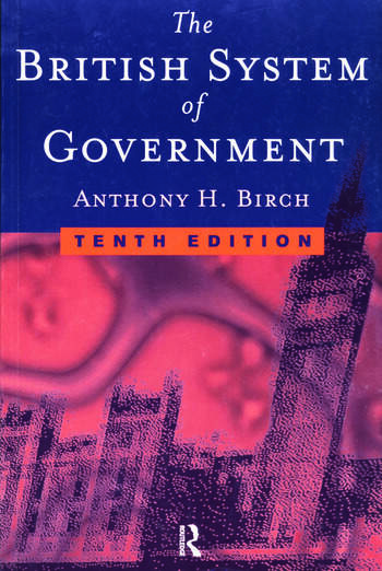 British System of Government book cover