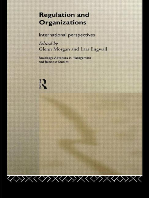 Regulation and Organisations International Perspectives book cover