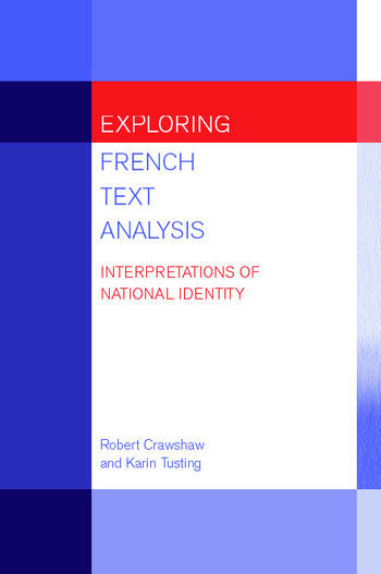 Exploring French Text Analysis Interpretations of National Identity book cover