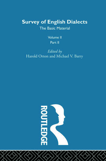 Survey Eng Dialects Vol2 Prt2 book cover