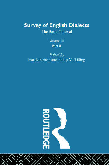 Survey Eng Dialects Vol3 Prt2 book cover