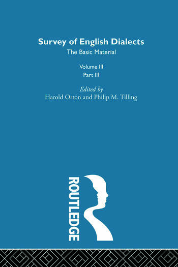 Survey Eng Dialects Vol3 Prt3 book cover