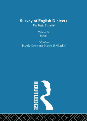 Survey Eng Dialects Vol4 Prt3 book cover