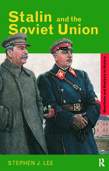 Stalin and the Soviet Union book cover