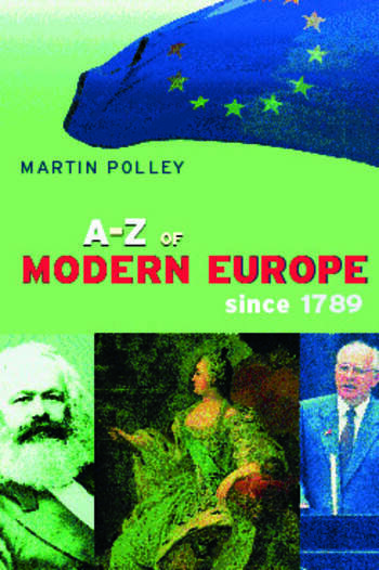 An A-Z of Modern Europe Since 1789 book cover
