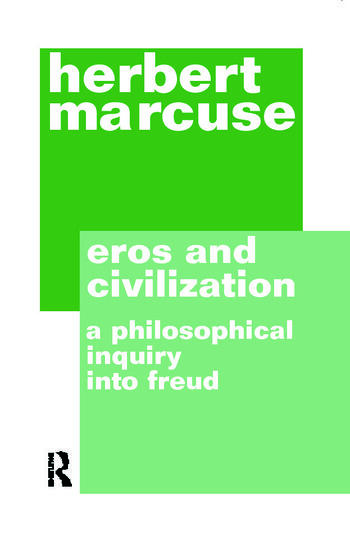 Eros and Civilization book cover