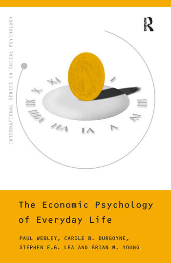 The Economic Psychology of Everyday Life book cover