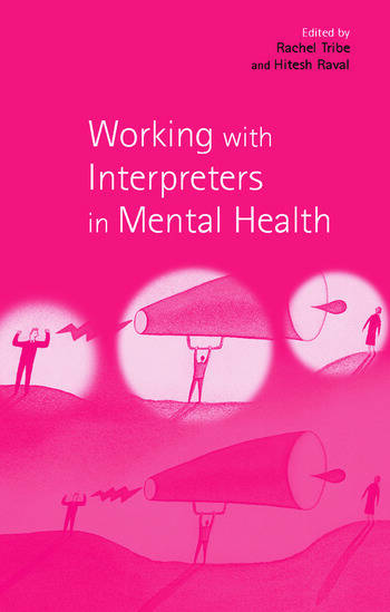 Working with Interpreters in Mental Health book cover