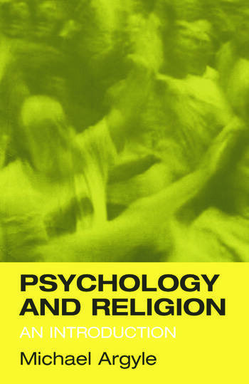 Psychology and Religion An Introduction book cover