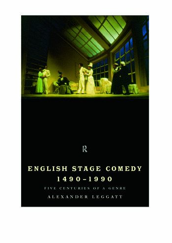 English Stage Comedy 1490-1990 book cover
