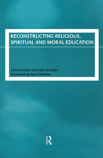 Reconstructing Religious, Spiritual and Moral Education book cover