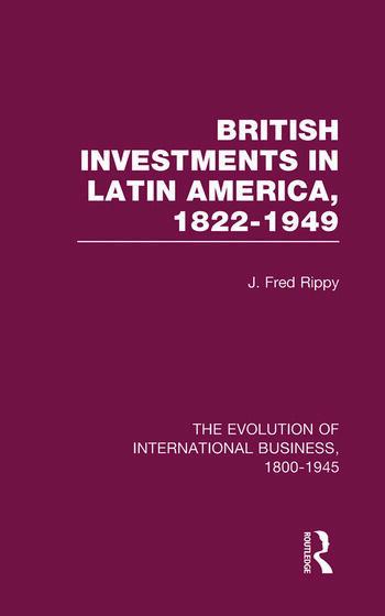 Brit Invest Latin America V1 book cover