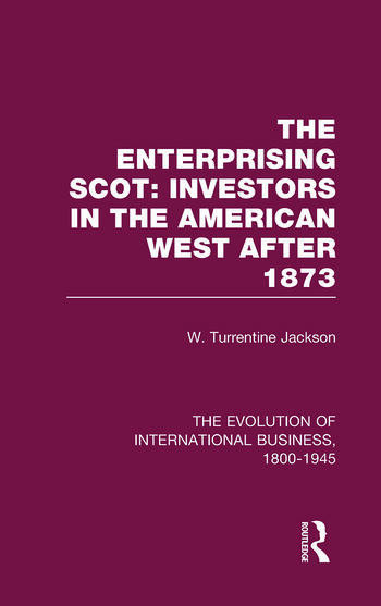 Enterprisng Scot:Inv Americ V3 book cover
