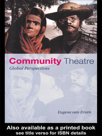 Community Theatre Global Perspectives book cover