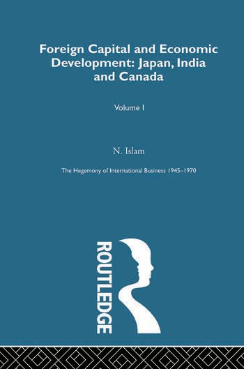 Foreign Cap&Econ Dev Japan Ind book cover