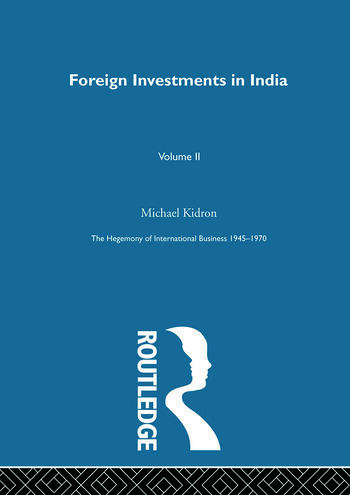 Foreign Investments In India book cover