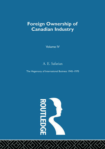 Foreign Ownership Canadn Indus book cover
