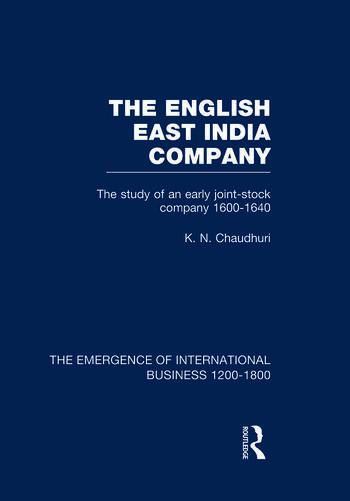 English East India Company V4 book cover