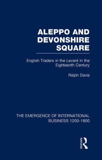 Aleppo & Devonshire Square V6 book cover
