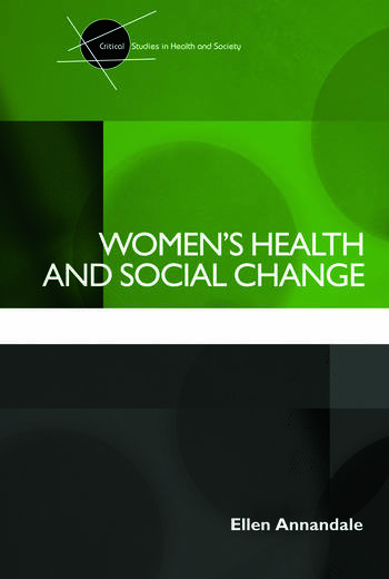 Women's Health and Social Change book cover