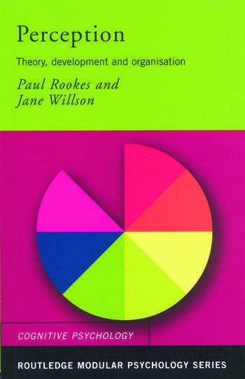 Perception Theory, Development and Organisation book cover