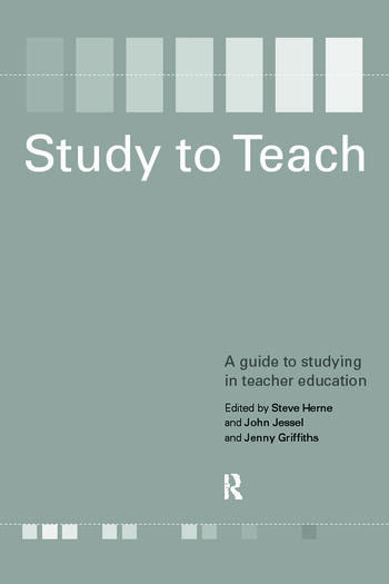 Study to Teach A Guide to Studying in Teacher Education book cover
