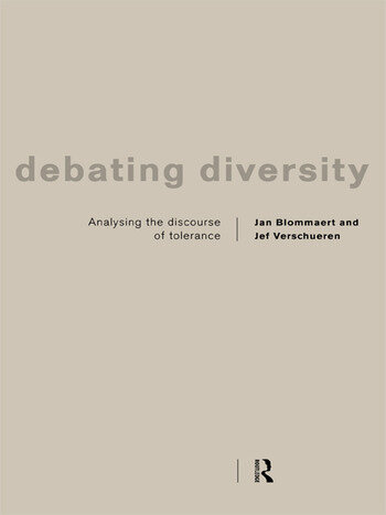Debating Diversity Analysing the Discourse of Tolerance book cover