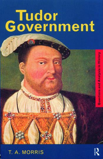Tudor Government book cover